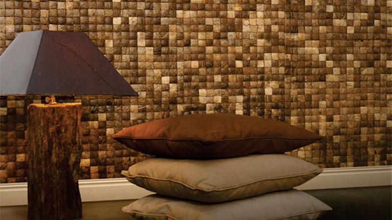 Bambusz-Kókusz mozaik - csempe -